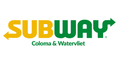 Subway in Downtown Coloma & Watervliet - $10 Certificate for $5