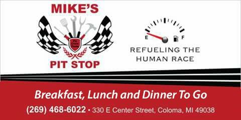 Mike's Pit Stop in Coloma - $10 Certificate for $5 - NOW $2.50!