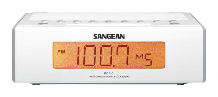 Sangean RCR-5 FM / AM Digital Tuning Clock Radio