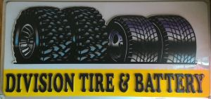 Division Tire & Battery in Dowagiac - $100 Certificate for $50
