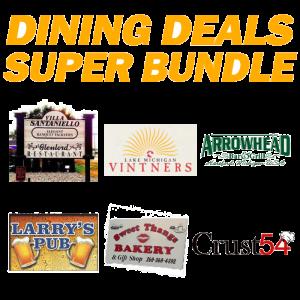 Dining Deal Bundle - 6 Restaurants, a $95 Value for Only $39!