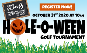 "The WIRX Plan B ""Hole-o-Ween"" Golf Tournament - Foursome"