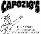 Capozio's in Harbert - $10 Certificate for $5
