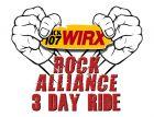 WIRX Rock Alliance 3-Day Ride Registration 2019