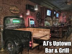 AJ's Uptown Bar and Grill in Berrien Springs - $20 Certificate for $10