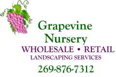 Grapevine Nursery in Coloma - $10 Certificate for $5