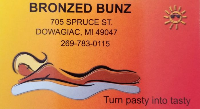Bronzed Bunz in Dowagiac - $10 Certificate for $5