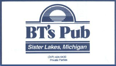 BT's Pub in Dowagiac - $20 Certificate for $10