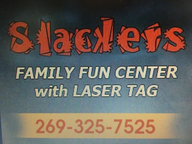 Slackers Family Fun Center in Benton Harbor - $50 Private Party Room Rental for $25