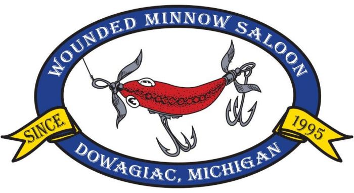 Wounded Minnow Saloon in Dowagiac - $25 Certificate for $12.50!
