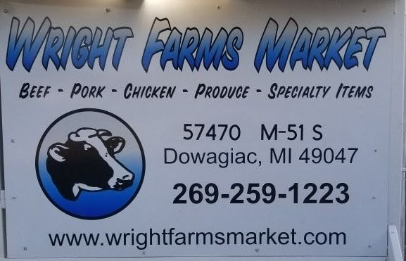 Wright Farms Market in Dowagiac - $25 Certificate for $12.50